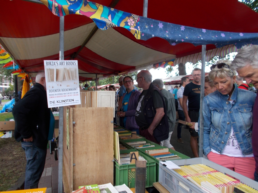 Boekenmarkt Deventer 2017